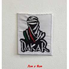 Dakar rally sports art badge Embroidered Iron or Sew on Patch