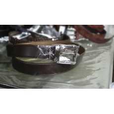 Brown Leather Belt for men - 001