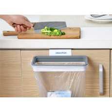 Attach A Trash - Hanging Trash Bag Holder, Waste Bin,Kitchen Cabinet Garbage...