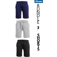 Bundle Of 3 Plain Shorts