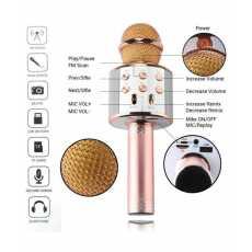 Best Microphone WS 858 for clear speaking professional karaoke speaker...