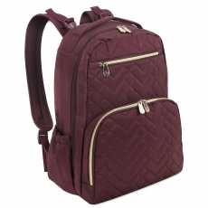 Fisher Price Burgundy Baby Backpack