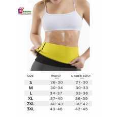 Soft Slim Sweat Belt for Men & Women Hot Body Shaper Weight Loss Slimming...