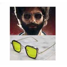 Kabir Singh Sunglasses Men Square Frame Cool Sunglasses for Male Plastic body