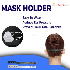 Mask Extender Clip, Adjustable Anti-Slip Ear Pain Relief  Grips Extension...