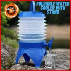 Folding Water Dispenser, Foldable Water Bottle Dispenser With Stand, Foldable...