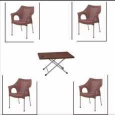 plastic chair set
