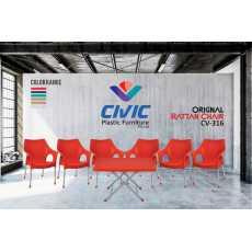 Orignal Rattan Chair CV-316 - 6 Chair 1 Table