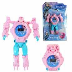 Watch and Action figure Robot Ironman, Batman, Captain America, Spiderman,...