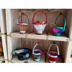 Size Small  Tokri basket HandiCraft-HandMade