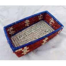 Small Size Fancy Basket Rectangle Shape -HandiCraft-Handmade
