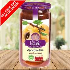 Shana Apricot Jam 830grams -  [Imported from Iran] GET FREE GIFT WITH ORDER