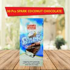 SPARK COCONUT FILLED CHOCOLATE - 30 Pcs