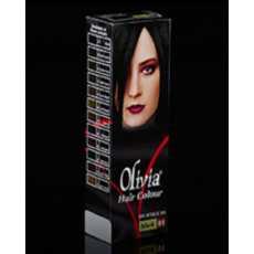 OLIVIA HAIR COLOUR - BLACK 01 - M4012
