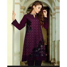 Summer Collection Women's 2 piece fabric 80/80 Lawn Embroided unstiched fabric
