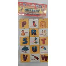 Kids Memory Blocks Alfabate A to Zee with picture design