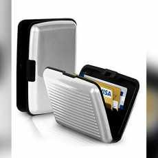 Aluma Wallet Resistant Card Protect Holder 6 pockets Ultra Slim Portable For...