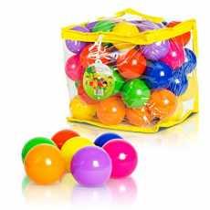 Soft Plastic Balls 10 Pcs Set - Multicolor