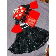 Kids circle Baby Girl Flower Dress Princess Party Tutu summer sleeveless dress
