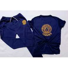 Gents Summer Tracksuit with New Luxury Design (T-Shirt + Trouser / Short)