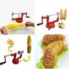 Potato Slicer,Spiral Potato Slicer, Fancy Slicer,Stainless steel potato piral...