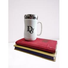 Creative Designer tea, coffee Mug with mirror lid for home, office,travel