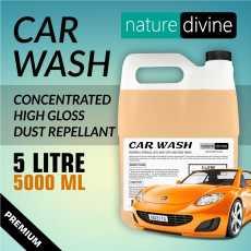 5 Litre (5000 ml) Nature Divine Concentrated Premium Car Wash Shampoo