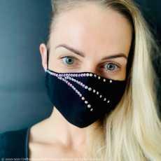 Fancy Face Mask Rhinestone