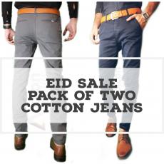 Cotton jeans Men's pants