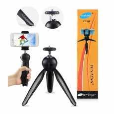 YUNTENG 228 Mini Tripod + Phone Holder / YT228 / Clip Desktop Tripod For...