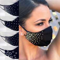 New Fancy Face Mask  Rhinestone