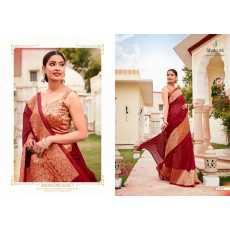 Digital Print Fashion Art Silk Saree SHAKUNT