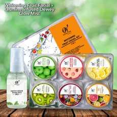 Whitening Fruit Facial Kit with Jasmine Infused Dewey Glow Mist