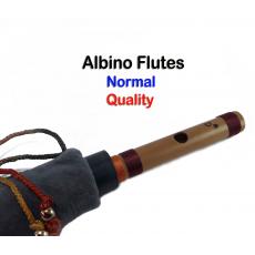 Albino D# Medium Scale Side Blown Bamboo Bansuri/ Flute