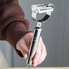 Julienne Peeler & Vegetable Peeler With Premium Ultra Sharp Stainless Steel...