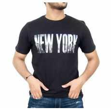 Short SLeeves New York Printed Tshirt For Men