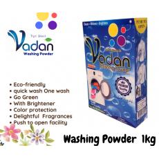 Vadan Detergent Washing Powder laundry Unique 1kg