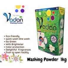 Vadan Washing Powder detergent laundry Jasmine 1kg