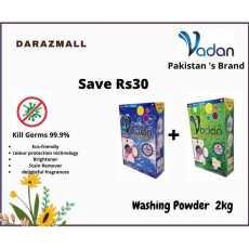 Vadan Detergent Washing Powder 2kg Save Rs 30
