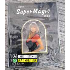 Super Magic Man Tissue for Ejaculation Delay and Erection