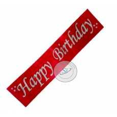 Birthday Sash (Red)