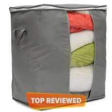 1 Pcs Non-woven Foldable Clothes Quilt Clothes Storage Bag Organizer Box New-L
