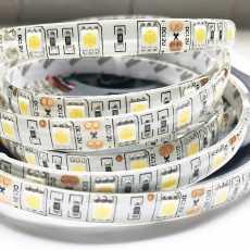 16.4ft - 5050 Waterproof & Flexible LED Light Strip 300 Leds 12V - White