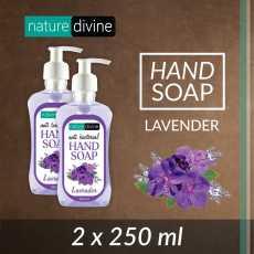 Pack of 2 Antibacterial Lavender Hand Soap 250 ml