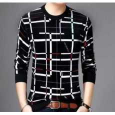 HY Boutique Lot Linning Screen Print on Full Sleeve T.ShirtJet hero /Abang...
