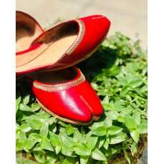 Hand made leather khusaa(shoes)-women