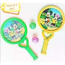 Pair of 2 Set Of table Tennis Racket And Balls toy for kids