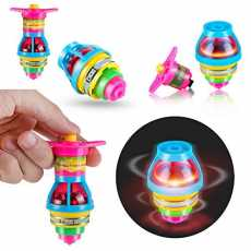 Pack of 3 Flashing Light spinning toy
