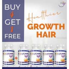 Buy 4 Get 1 Free Follicare Tablet Hair Vitamin 4 + 1 OFFER