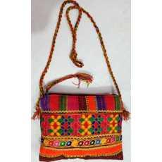Handmade Embroidered Cross Bagbody Bag